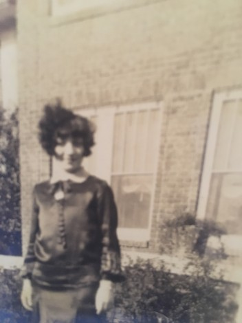 Young Sara Lee in Black Satin