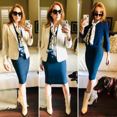 Monday pencil skirt